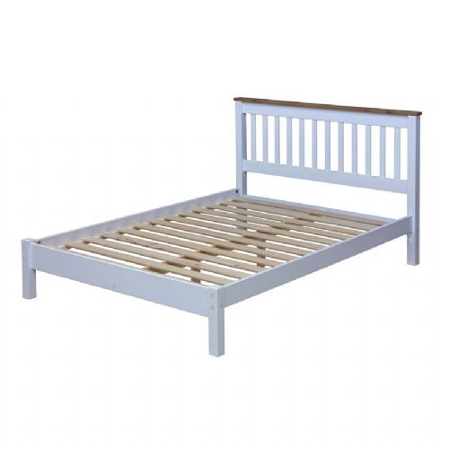 Capri Double Slatted Head End Bed